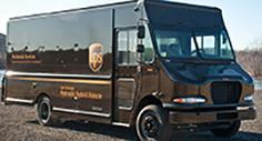 UPS vehicle